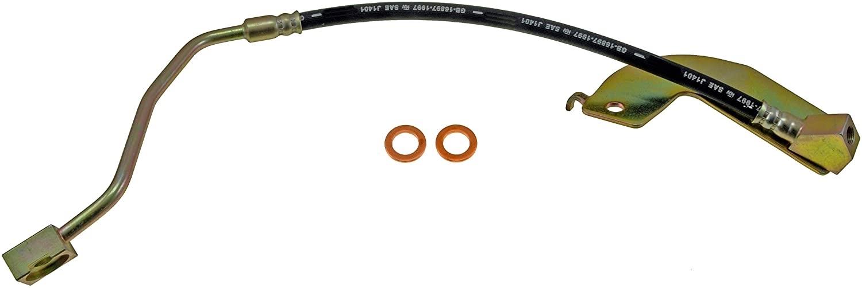 hinten Autoparts-Online Set 60002835 4 x Bremsschlauch vorne
